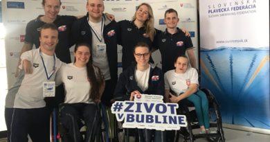 Velká cena Slovenska s para plaveckou účastí!