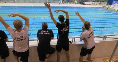 Třetí závodní den na IDM Schwimmen Berlin a finále. kraulová padesátka