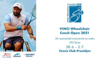 Mezinárodní tenisový turnaj vozíčkářů VINCI Wheelchair Czech Open 2021