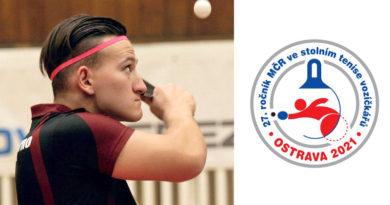 M-ČR jednotlivců a dvoučlenných družstev ve stolním tenise vozíčkářů v Ostravě