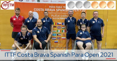 ITTF Costa Brava Spanish Para Open 2021
