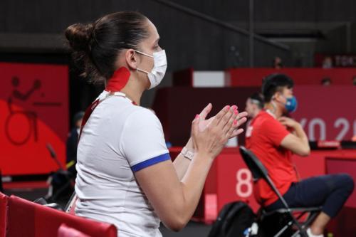 LPH Tokyo 2020, fyzioterapeutka Michaela Hladišová