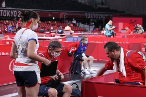 LPH Tokyo 2020, Jiří Suchánek první zápas ve skupině proti Lamirault Fabien (FRA)