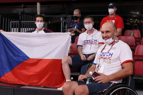 LPH Tokyo 2020, zápas Petra Svatoše proti van Emburgh Jenson (USA)